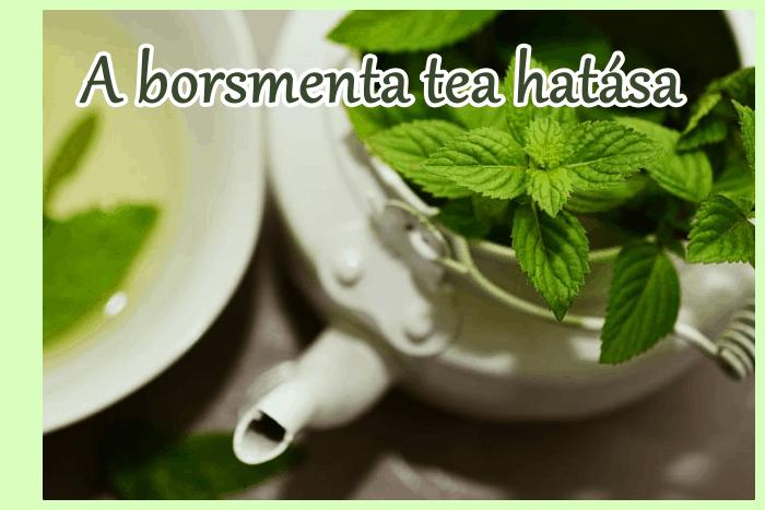 A borsmenta tea hatása, mint természetes nyugtató