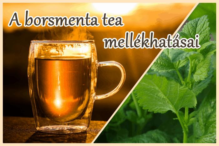A borsmenta tea mellékhatása