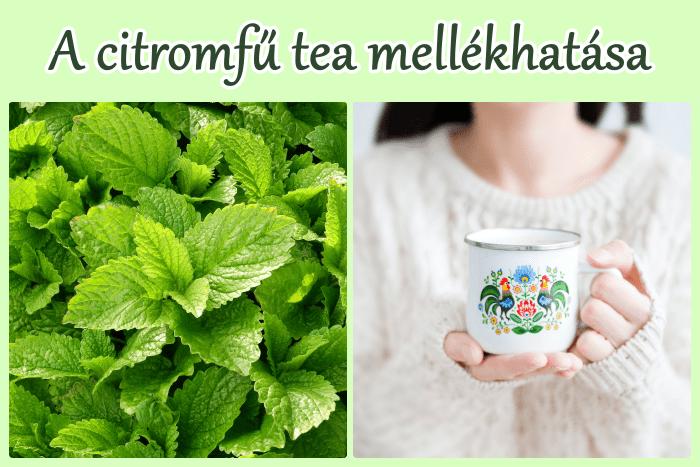 A citromfű tea mellékhatása – mire figyelj?